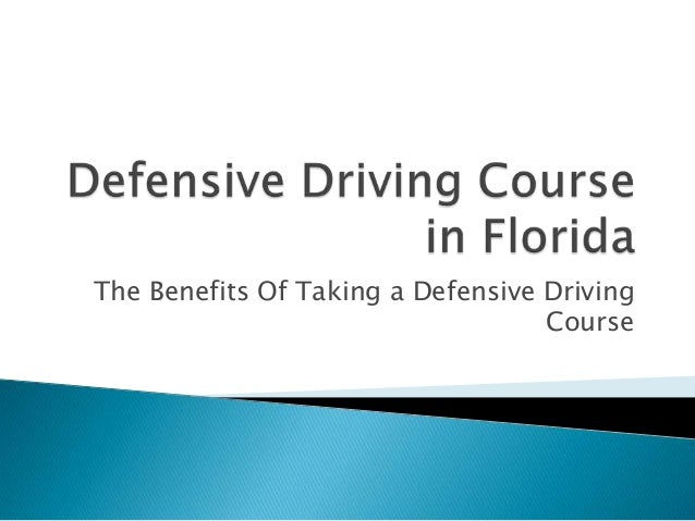 The Benefits Of Taking a Defensive Driving                                   Course