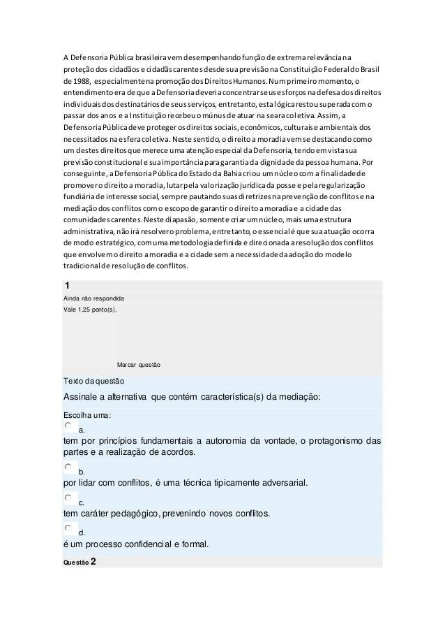 A DefensoriaPúblicabrasileiravemdesempenhandofunçãode extremarelevânciana proteçãodos cidadãose cidadãscarentesdesde suapr...