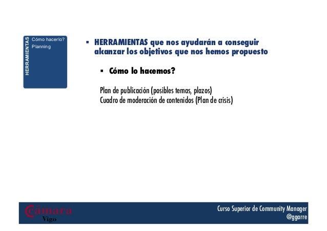 HERRAMIENTAS  Cómo hacerlo? En base a las métricas Planning Revisión temporal Mejora continua  4.   § HERRAMIENTAS que ...