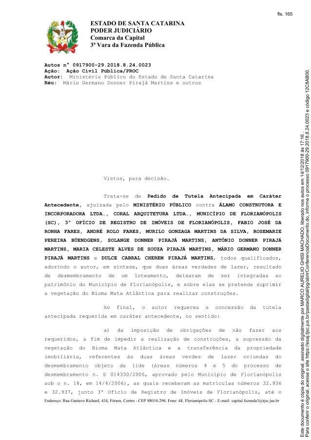 O que é documento deferido
