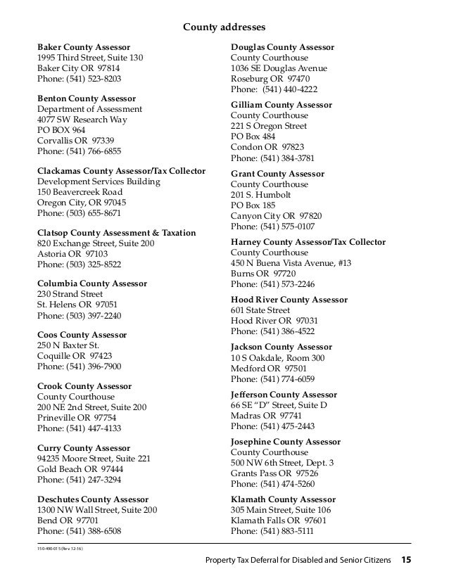 Linn County Property Tax Assessor