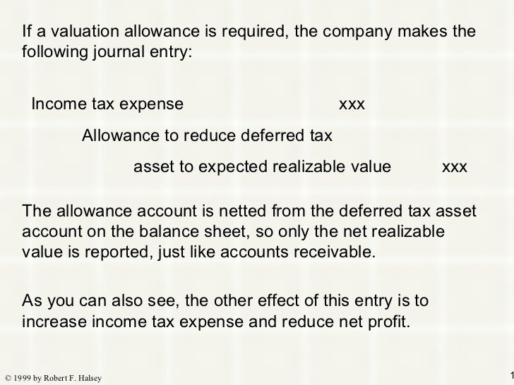 deferred taxes