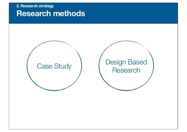 Master thesis research strategy