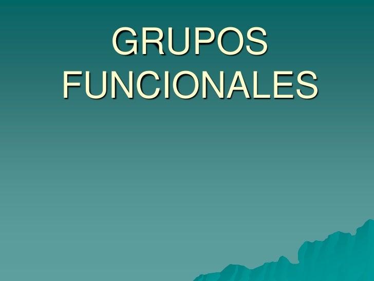 GRUPOSFUNCIONALES