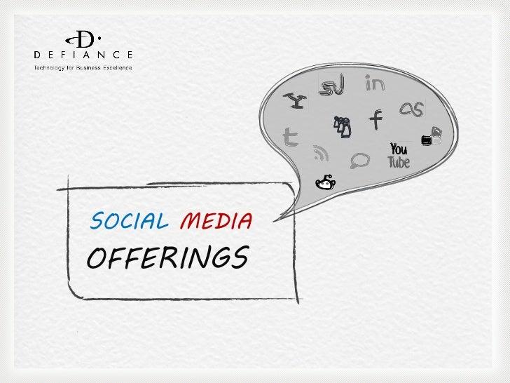 SOCIAL MEDIAOFFERINGS