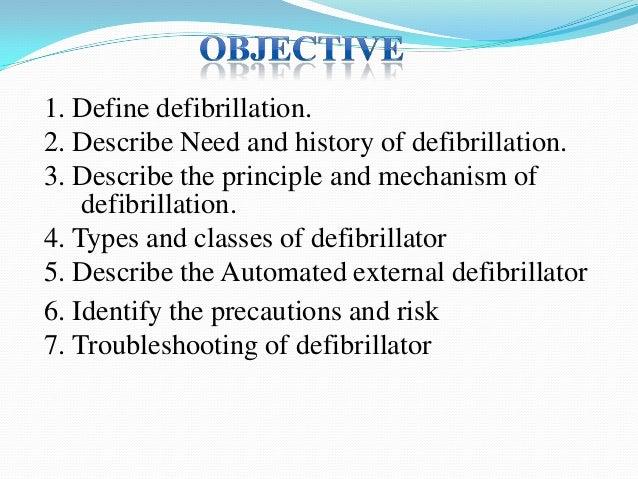 Defibrillator (ppt) Slide 2