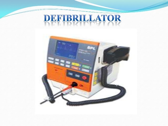 Defibrillator (ppt) Slide 3