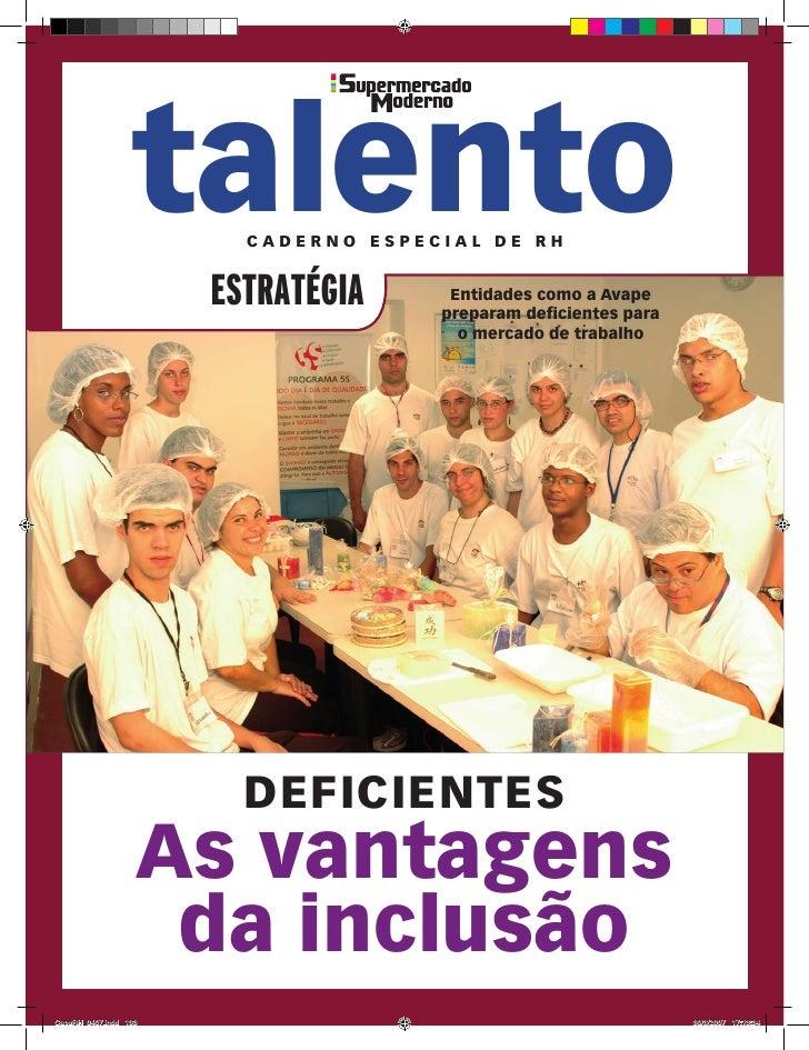 talento               Caderno espeCial de rH                       estratégia            entidades como a avape           ...
