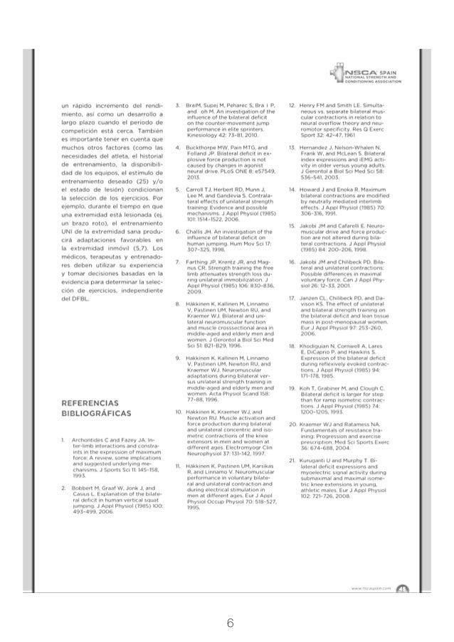 ejercicios unilaterales vs ejercicios bilaterales y el