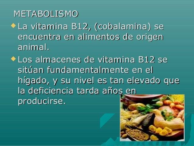 Deficit de b12 - En que alimentos esta la vitamina b12 ...