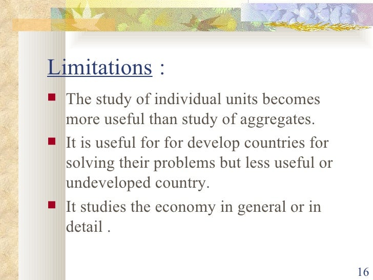 limitations of managerial economics Economic limitations ion delsol loading robbins definition of economic with limitations - duration: 5:27 pranav classes 6,607 views nature and scope of managerial economics | micro economics | macro economics - duration.