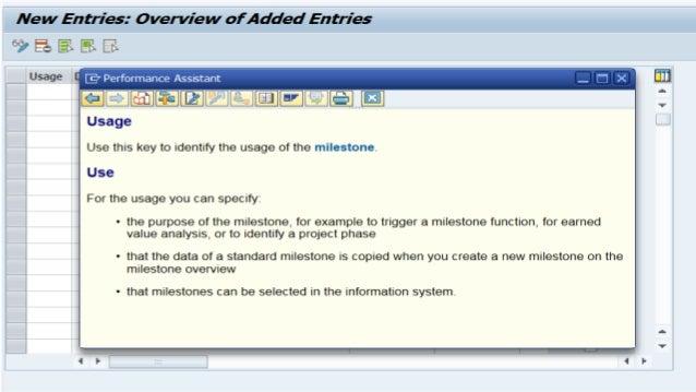 Define milestone usage  Slide 2