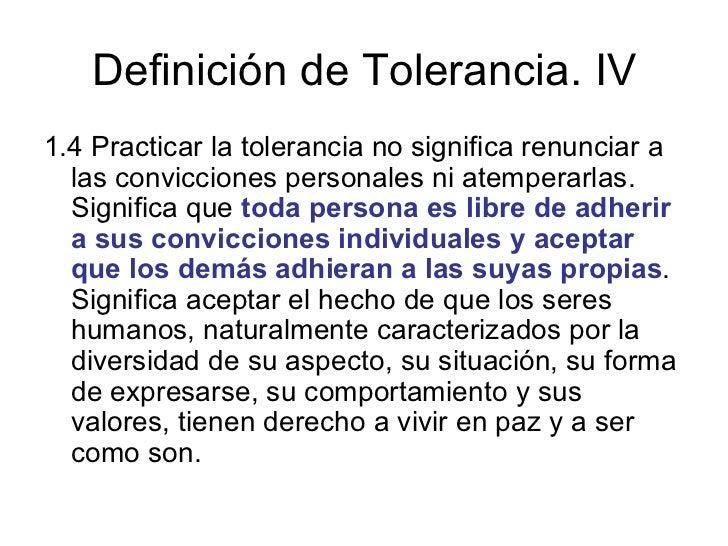 Definici n de tolerancia for Concepto de oficina y su importancia