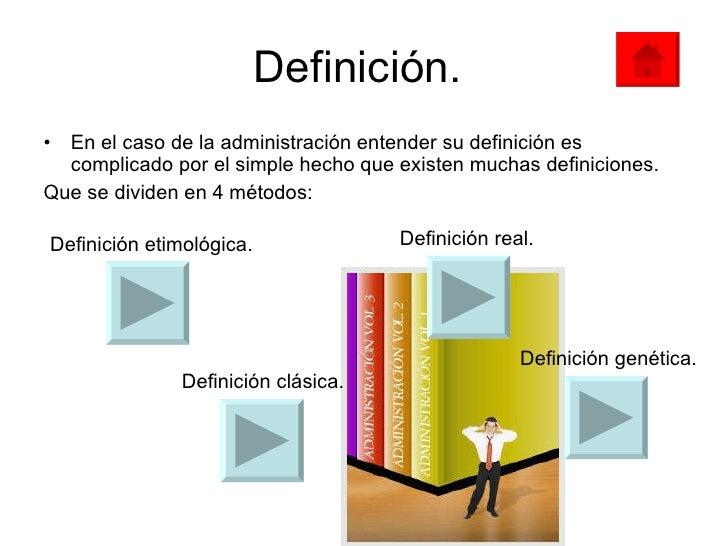 Definici n de administraci n presentacvion for Oficina definicion