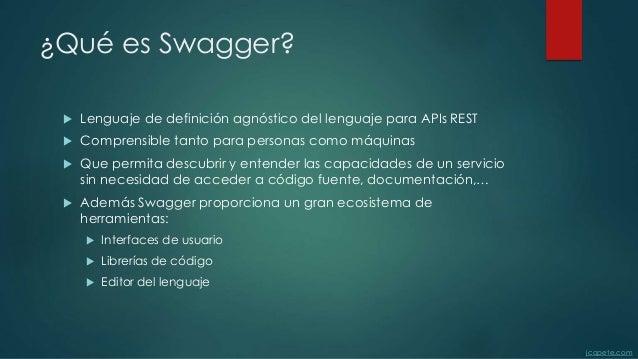 Definición de apis con swagger Slide 2