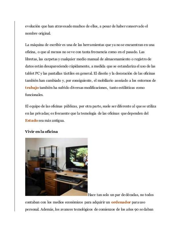 Definici n de equipo de oficina for Mobiliario de oficina definicion
