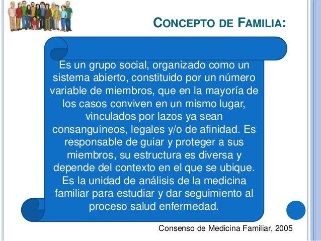 Concepto de salud y enfermedad for Concepto de familia pdf