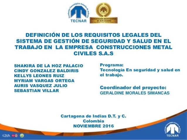 SHAKIRA DE LA HOZ PALACIO CINDY GONZALEZ BALDIRIS KELLYS LEONES RUIZ MYRIAM VARGAS ORTEGA AURIS VASQUEZ JULIO SEBASTIAN VI...
