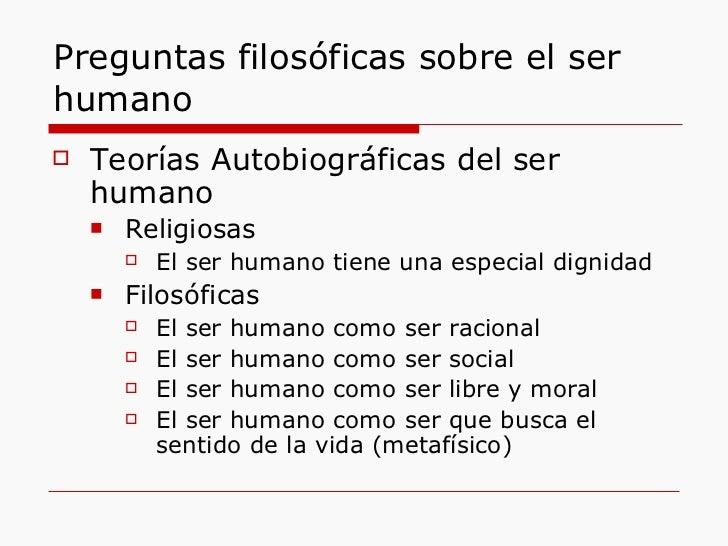Definición del ser humano
