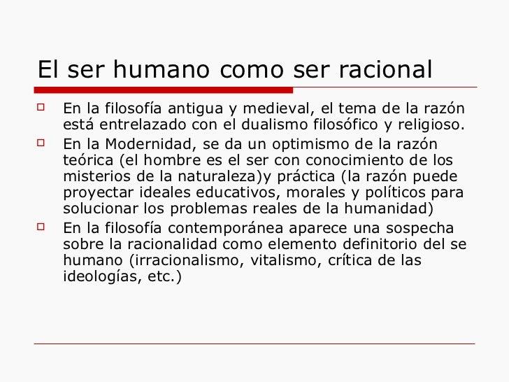 Definici n del ser humano for Definicion de contemporanea