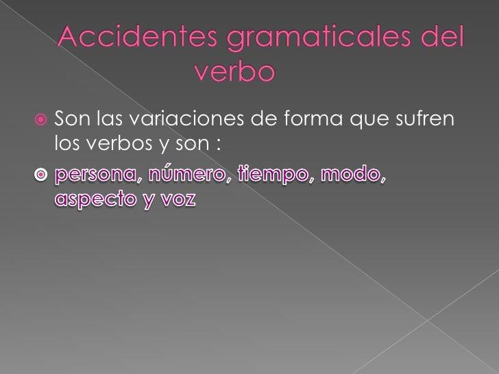 Definición y función del verbo Slide 3