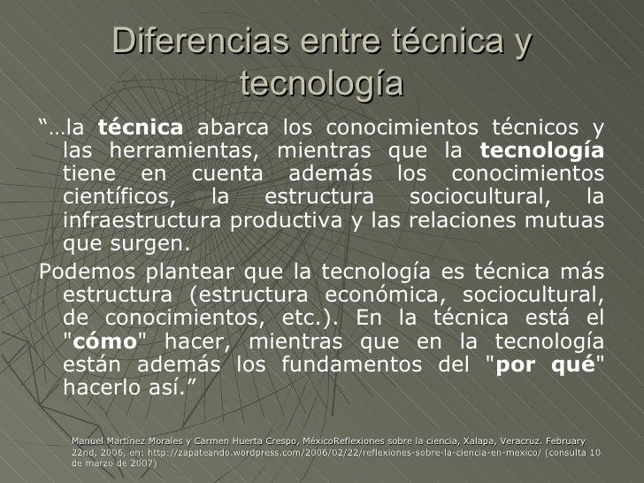 Definicion Ciencia Y Tecnología