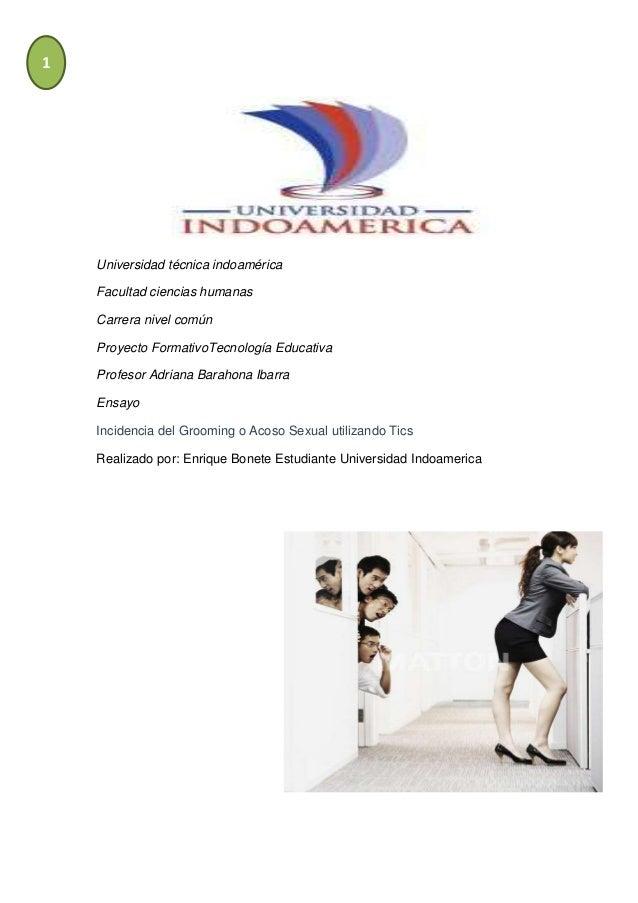 1Universidad técnica indoaméricaFacultad ciencias humanasCarrera nivel comúnProyecto FormativoTecnología EducativaProfesor...