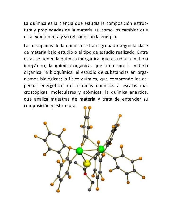 Definicion de quimica for Definicion de gastronomia pdf