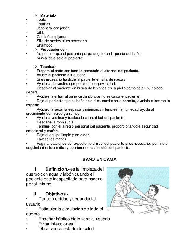 Definicion de tecnicas de enfermer a for Cama definicion