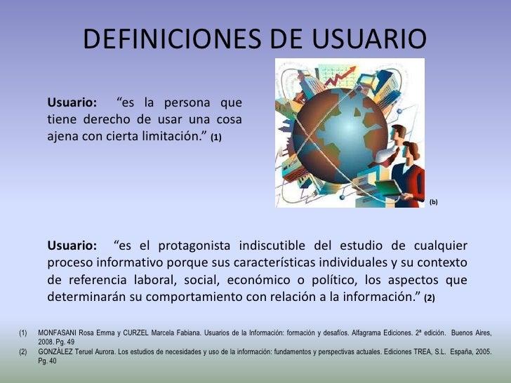 Definicion de usuarios for Origen y definicion de oficina