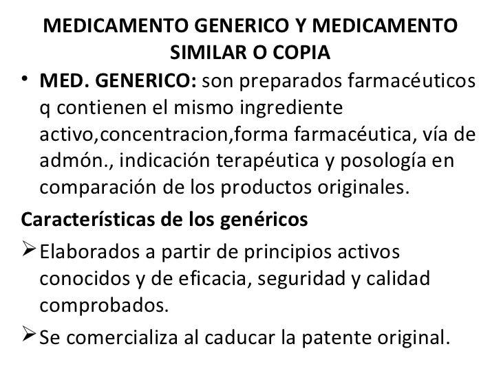 Definiciones y conceptos basicos. farmaco i