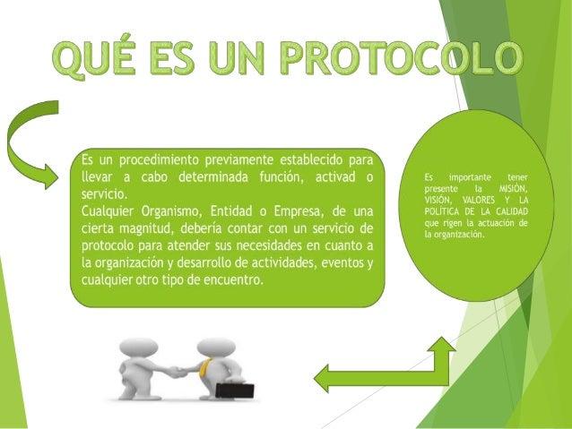 Definicion protocolo for Definicion de gastronomia pdf