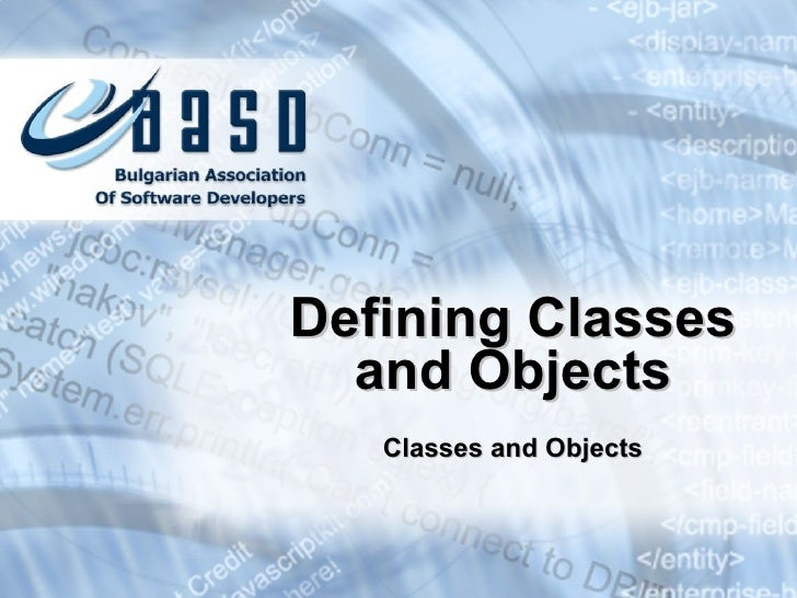 Defining classes-and-objects-1.0