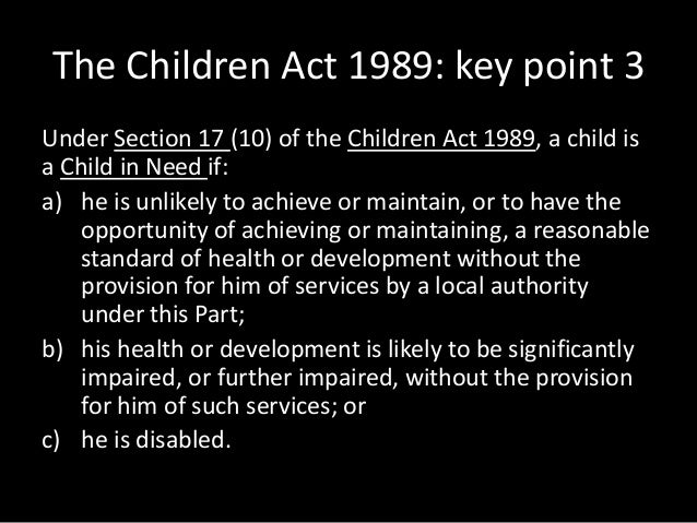 definitions in the children act 1989 Act) changes to the oranga tamariki act 1989, or the children's and young people's well-being act 1989 - definition of young person.