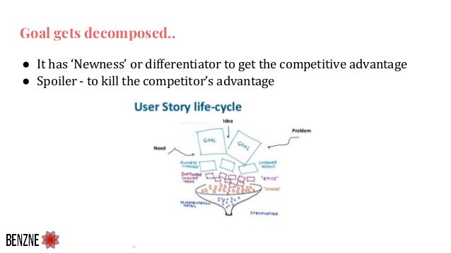 ● It has 'Newness' or differentiator to get the competitive advantage ● Spoiler - to kill the competitor's advantage Goal ...