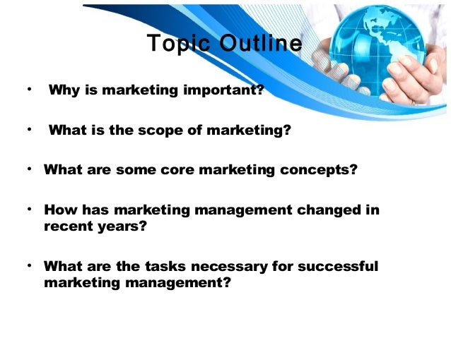 Defining Marketing for the 21st Century - Philip Kotler First Chapter Slide 2
