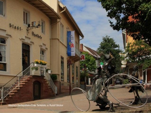 Wiesloch Stadtapotheke Erste Tankstelle, cc Rudolf Stricker
