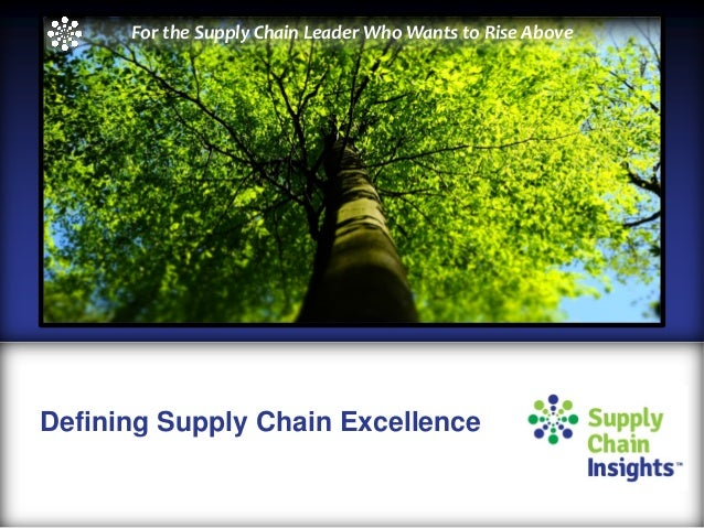 What Defines Supply Chain Excellence? Is It Defined by the Gartner Top 25?