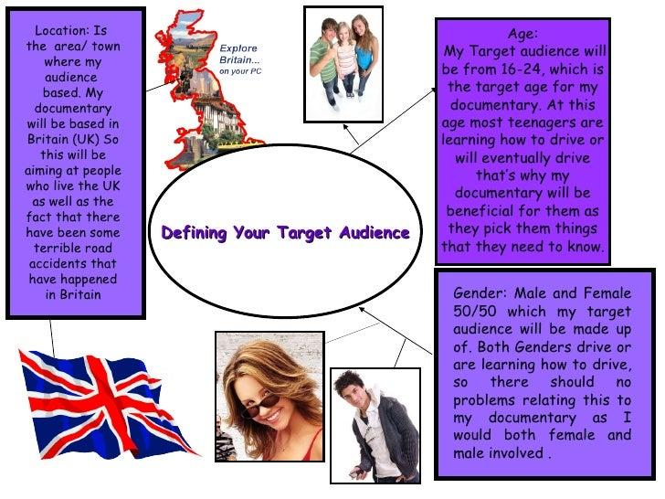 Defining Target Audience Slide 2