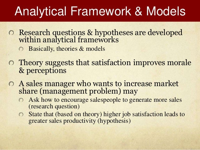 defining marketing research paper Chapter 1: basic concepts in research and data analysis 5 notice how this statement satisfies the definition for a hypothesis: it is a statement about the relationship between two variables.