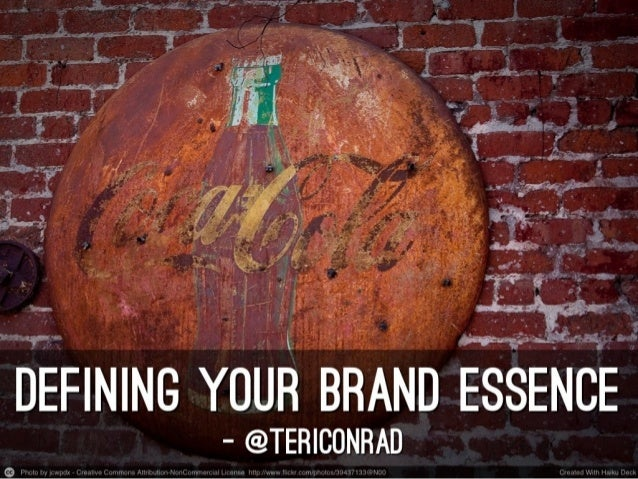 Defining Your Brand Essence