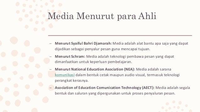 Definisi media dan multimedia