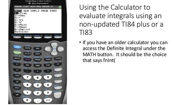 Integral Calculator Online