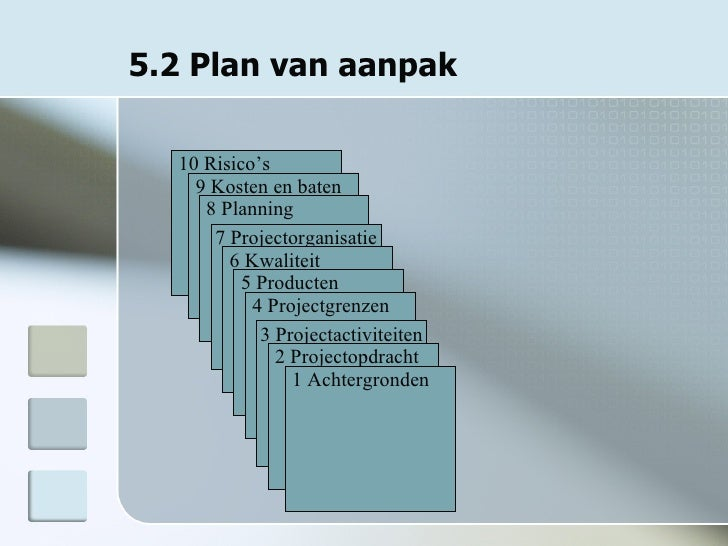 projectmanagement plan van aanpak Definitieve Ppt Projectmanagement projectmanagement plan van aanpak