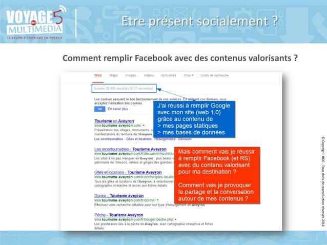 Etre présent socialement ? Comment remplir Facebook avec des contenus valorisants ?  © Copyright BDC - Tous doits de repro...