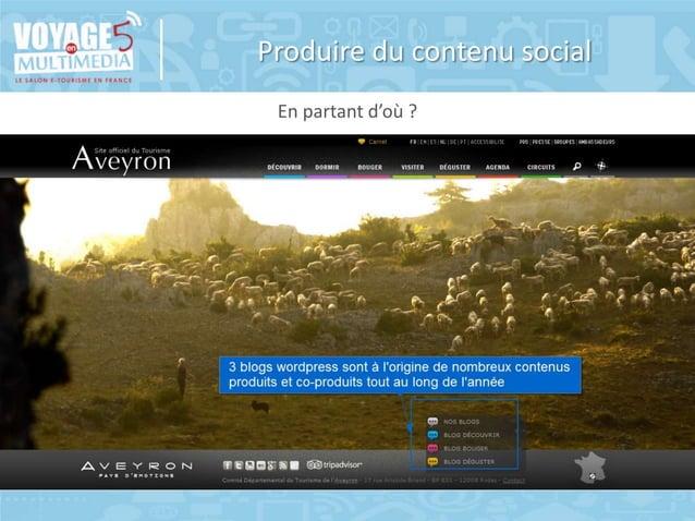 Produire du contenu social En partant d'où ?  © Copyright BDC - Tous doits de reproduction réservés 2014