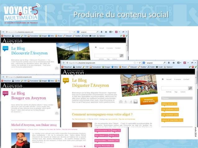 Produire du contenu social  © Copyright BDC - Tous doits de reproduction réservés 2014