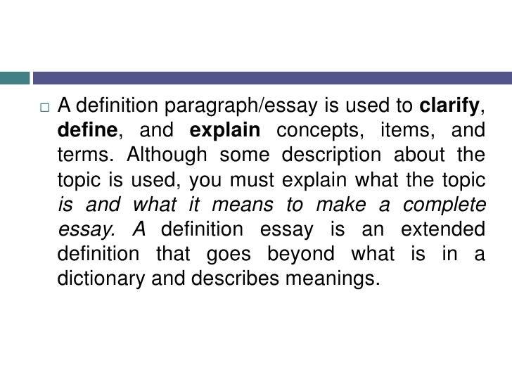 U003cbr /u003e; 3. A Definition ...