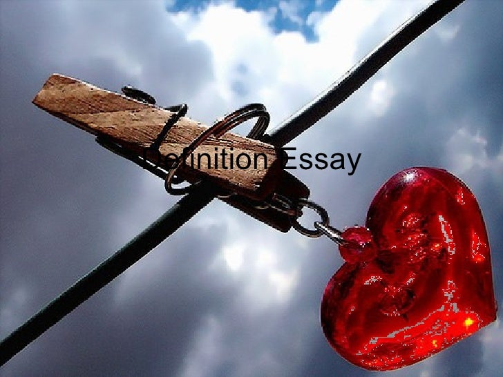 definition love definition essay