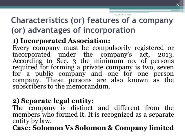 seperate legal entity salamon case View cases from comlaw 203 at auckland salomon v salomon ltd [1897] separate legal entity piercing the corporate veil summary: mr salomon had a successful sole proprietor he wished to.
